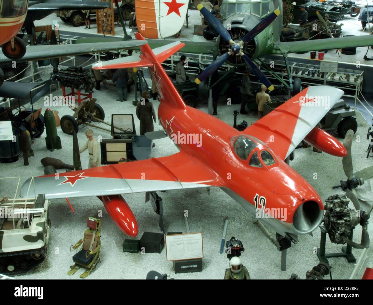 Auto & Technic museum Sinsheim MiG-15 (WSK PZL Mielec LIM-2