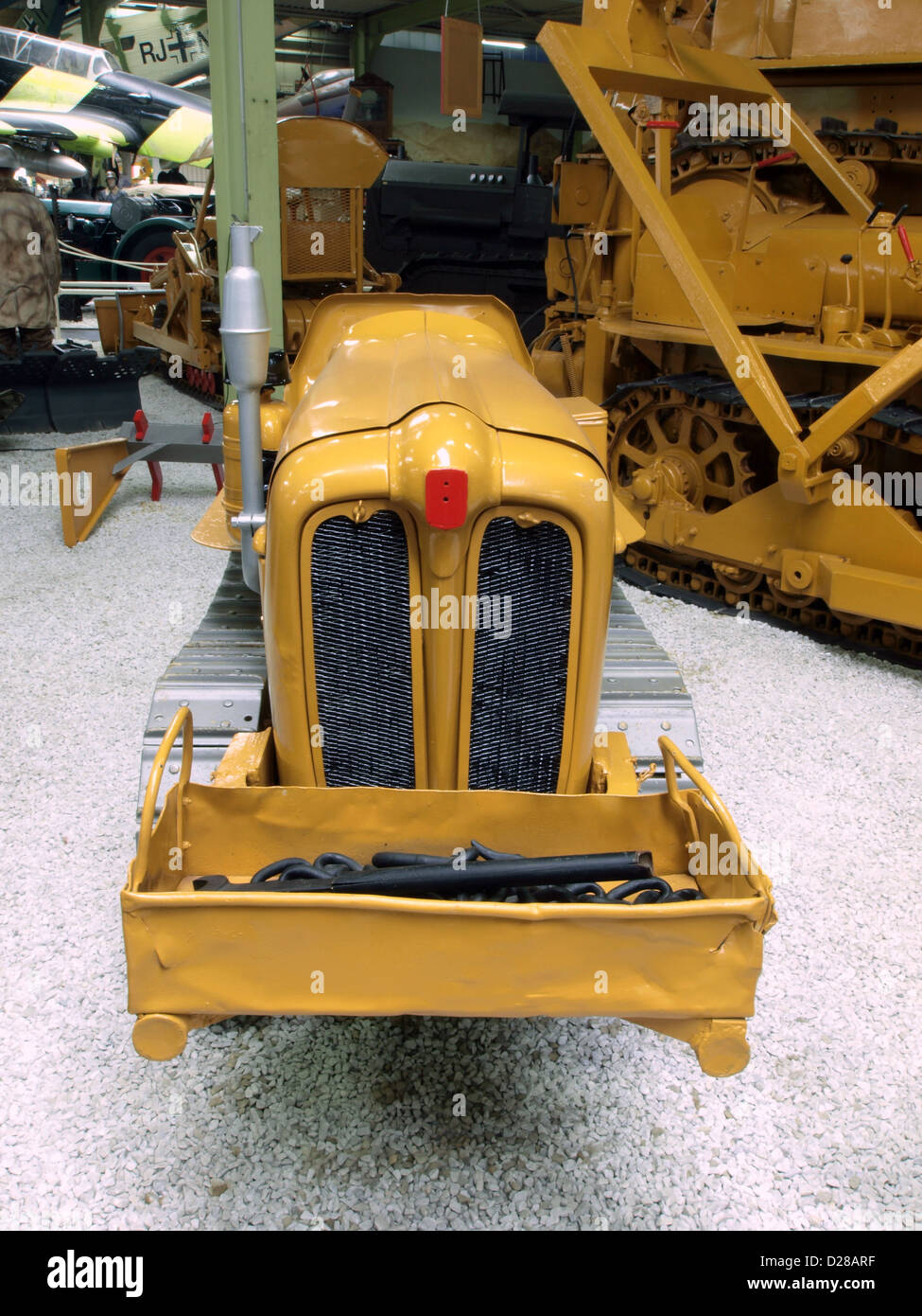 Auto & Technic museum Sinsheim.Fiat 331C Weinberg caterpillar Stock Photo