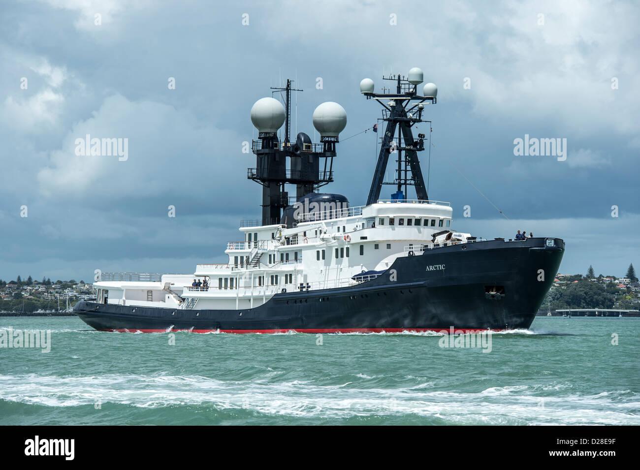 88 Metre Motor Yacht Arctic P Stock Photo 53047275 Alamy