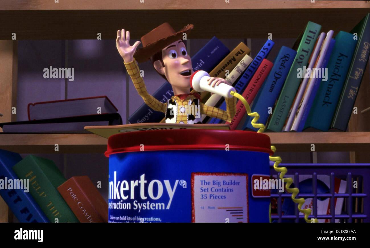 Toy Story   Toy Story   Woody *** Local Caption *** 1995  Walt Disney - Stock Image
