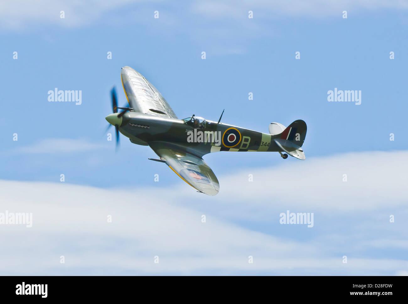 Supermarine Spitfire mk9 - Stock Image