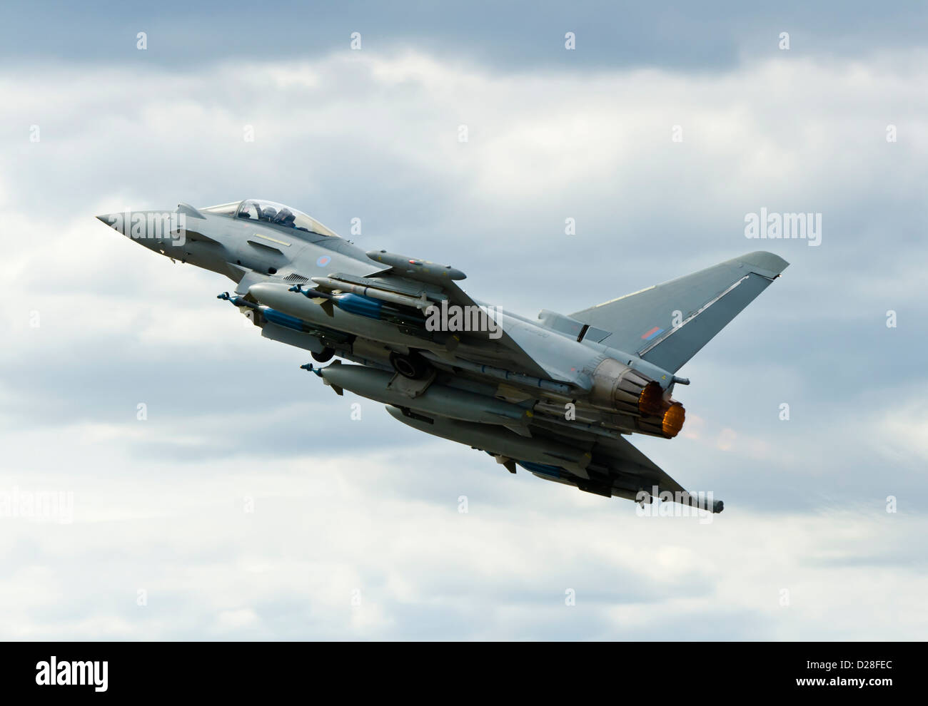 Typhoon jet fighter - Stock Image