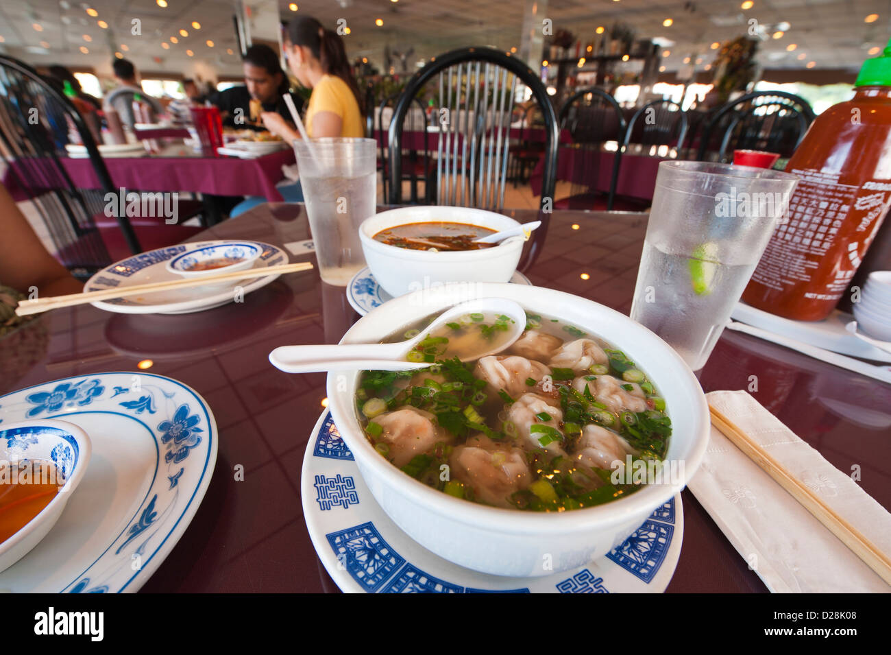 USA, Florida. Pho 88 Vietnamese Restaurant, Orlando, Florida. Stock Photo