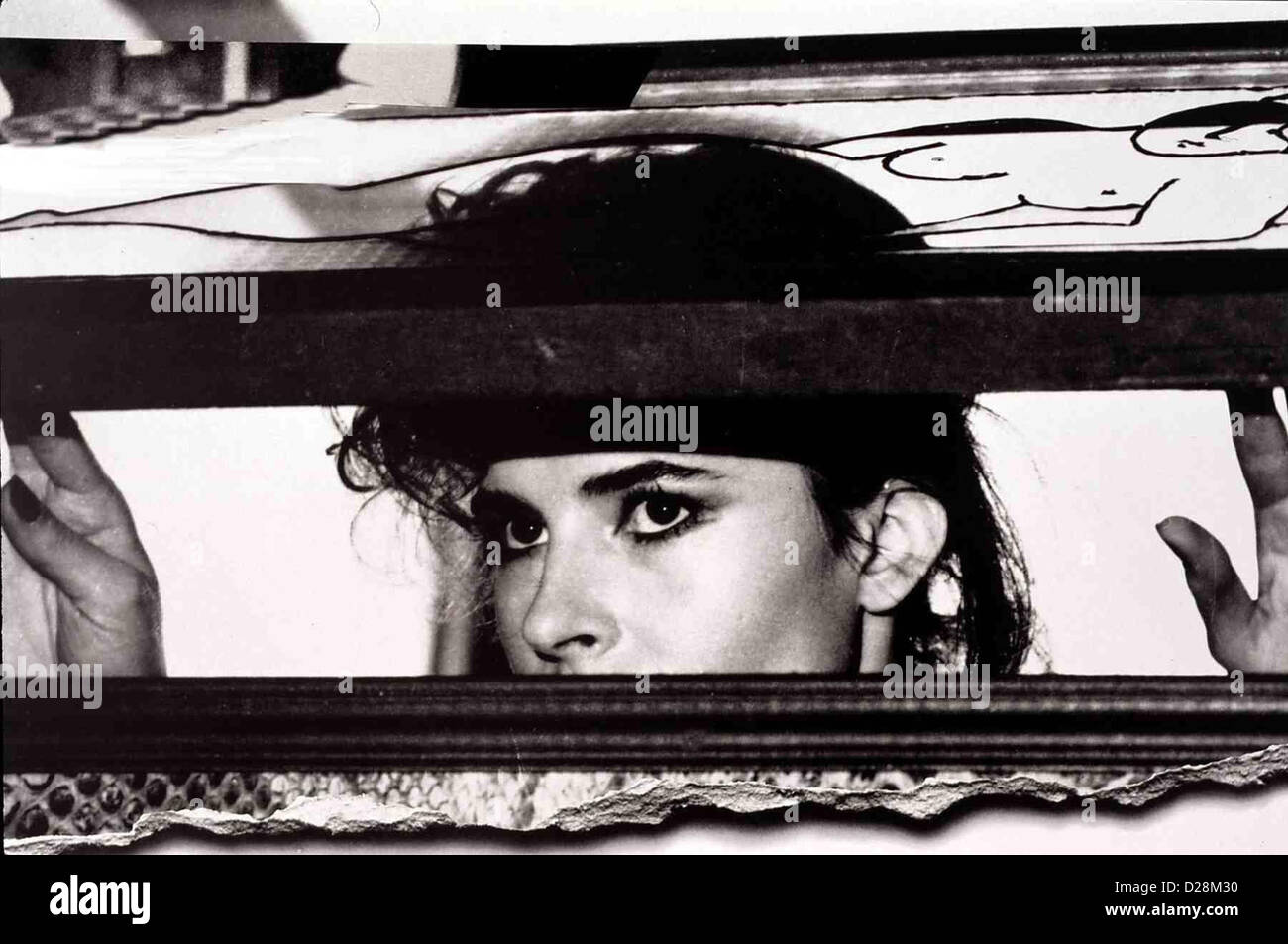 Auf Liebe Und Tod   Vivement Dimanche!   Barbara (Fanny Ardant) *** Local Caption *** 1982  -- - Stock Image