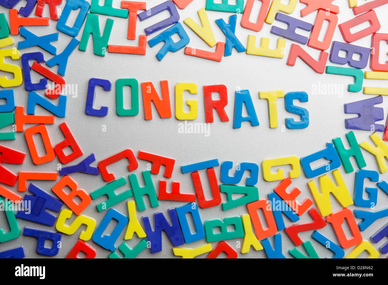 Congrats refrigerator magnets spell a message out of a jumble of congrats refrigerator magnets spell a message out of a jumble of letters thecheapjerseys Images