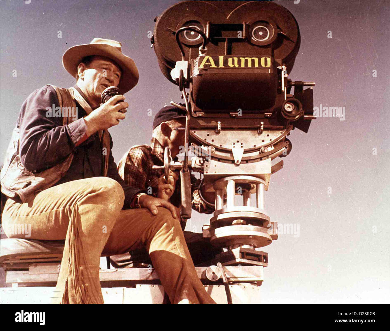 John Wayne - Ein Porträt Von James Kent   Wayne, John    *** Local Caption *** 0  -- - Stock Image