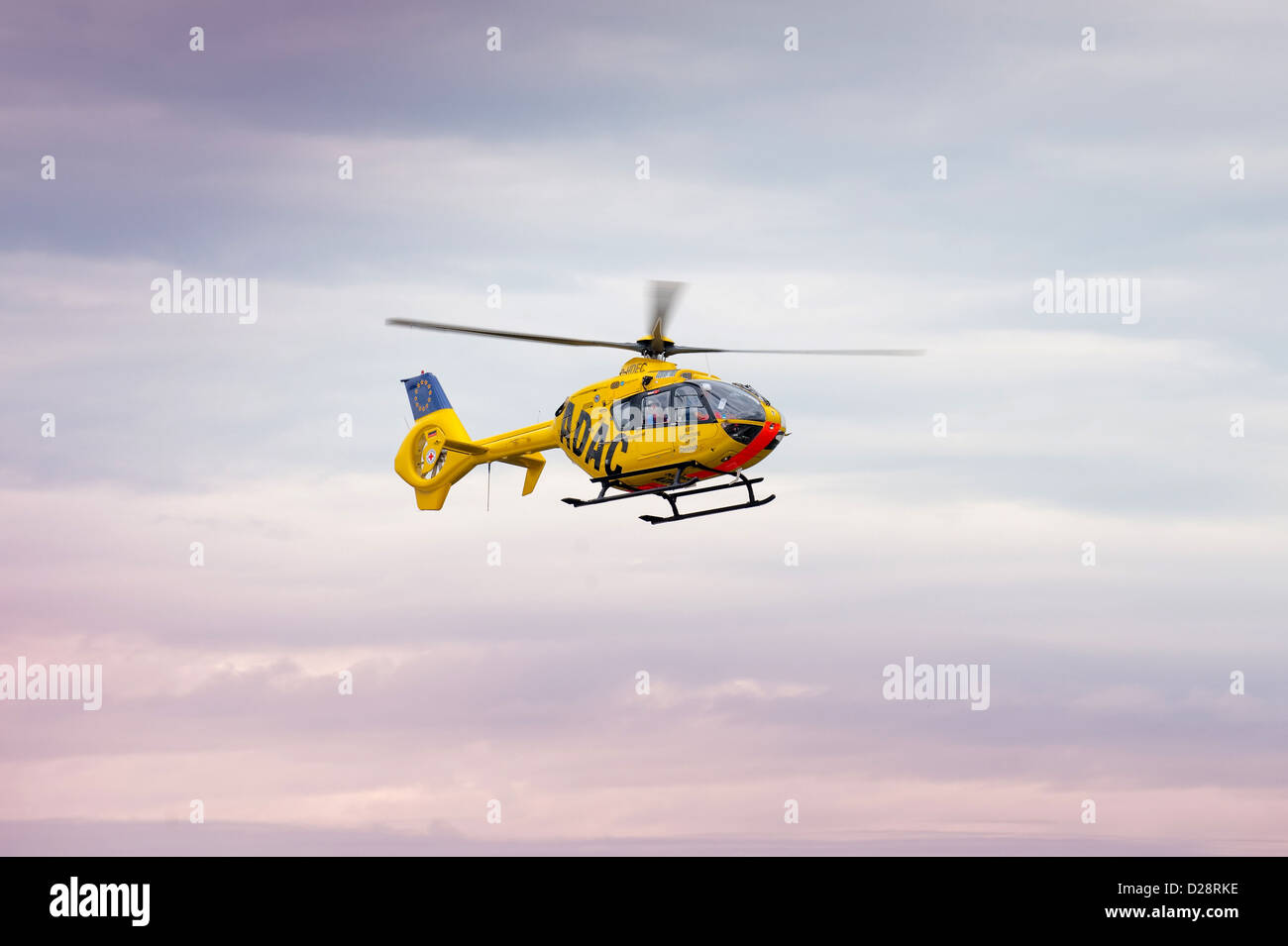 Berlin, Germany, rescue helicopter Christoph 31 - Stock Image