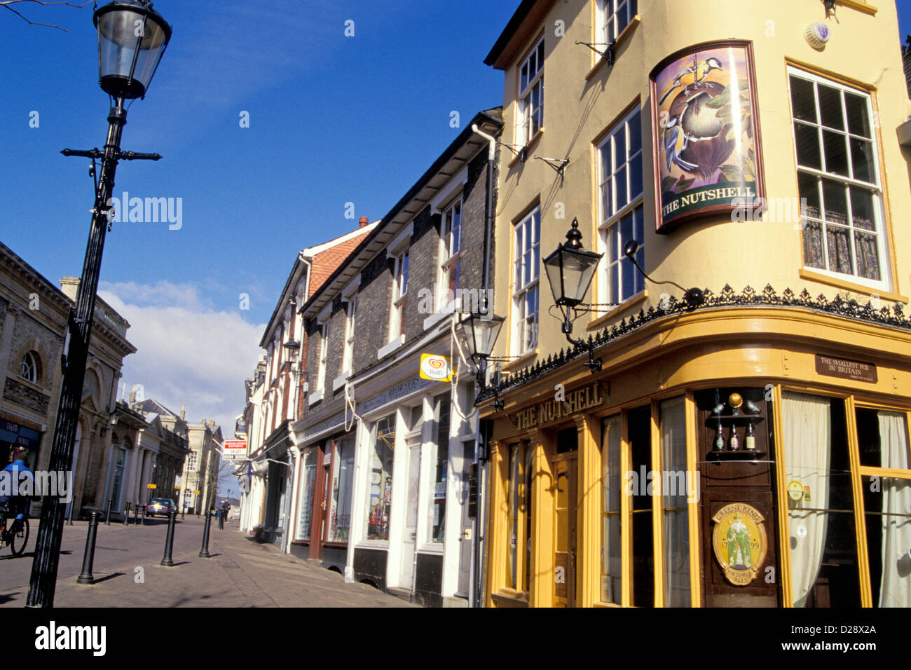 England. Bury St. Edmunds. - Stock Image