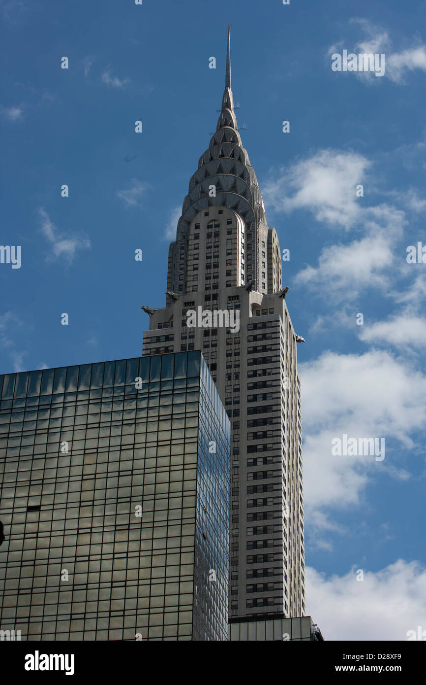 Manhattan skyscrapers, Chrysler building, Grand central - Stock Image