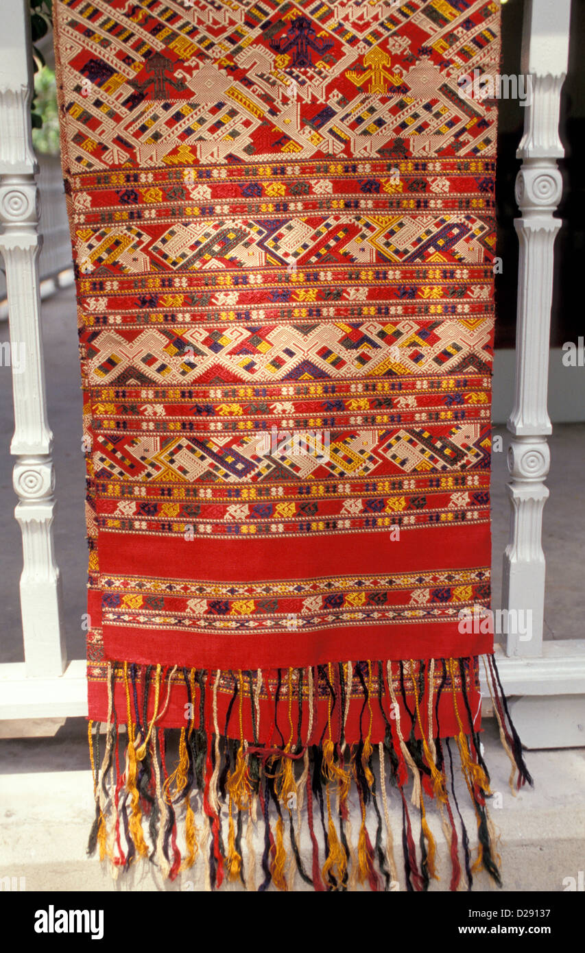 Thailand. Textile. Detail. - Stock Image