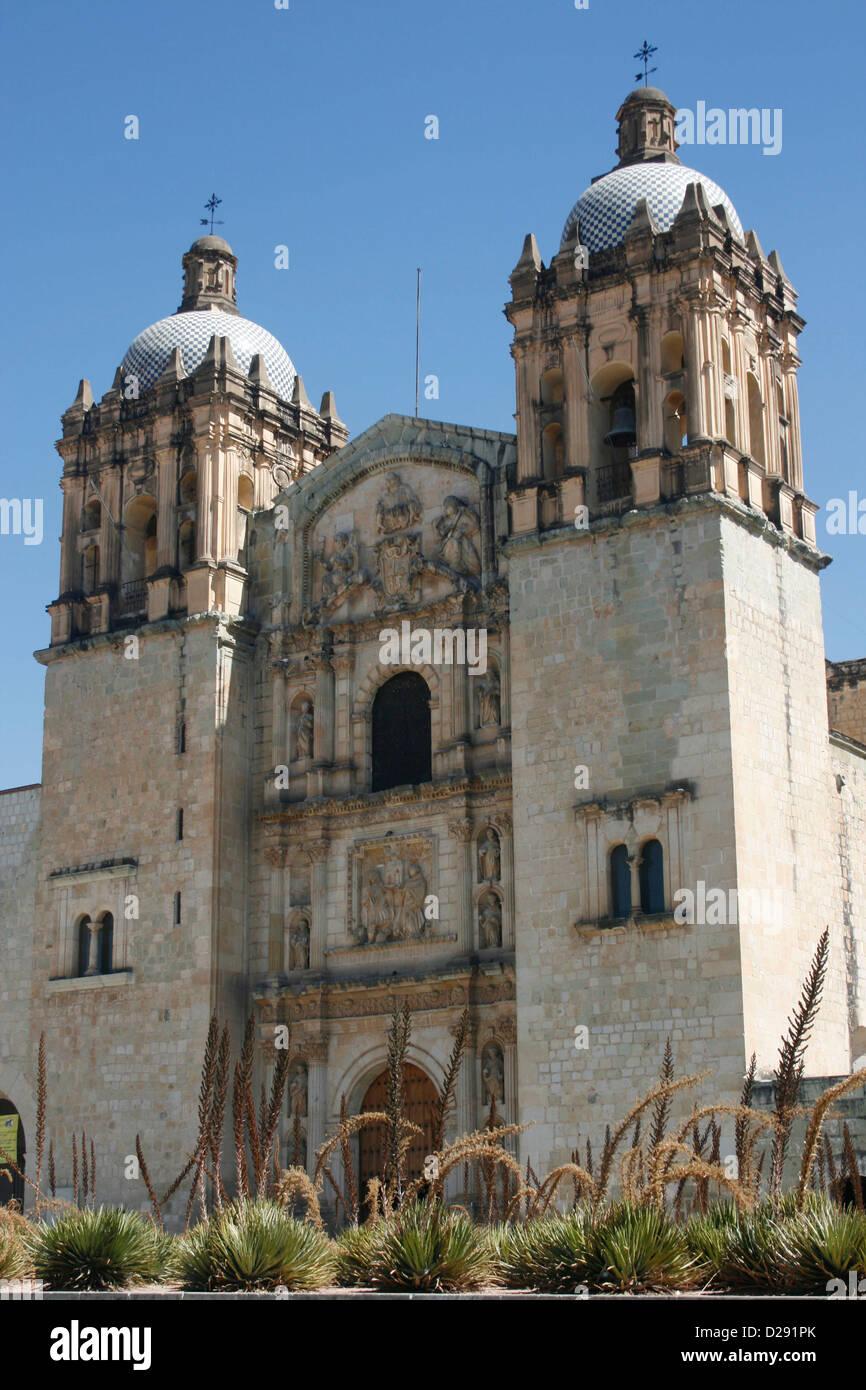 Mexico, Oaxaca, Santo Domingo - Stock Image