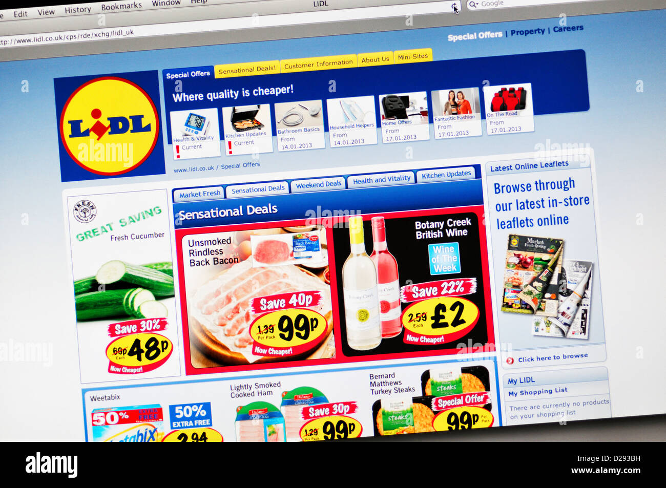 lidl england stock photos lidl england stock images alamy. Black Bedroom Furniture Sets. Home Design Ideas
