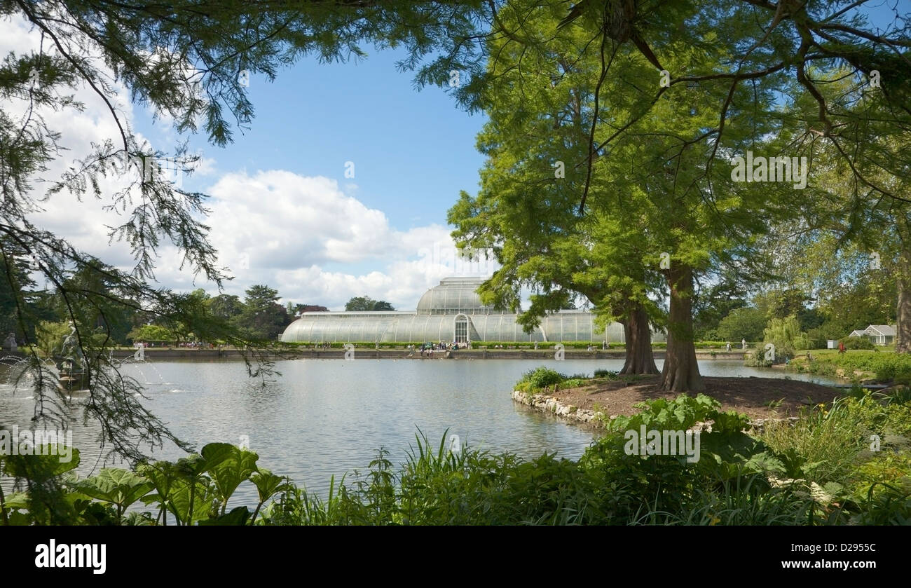 Kew Gardens, Surrey UK. Stock Photo