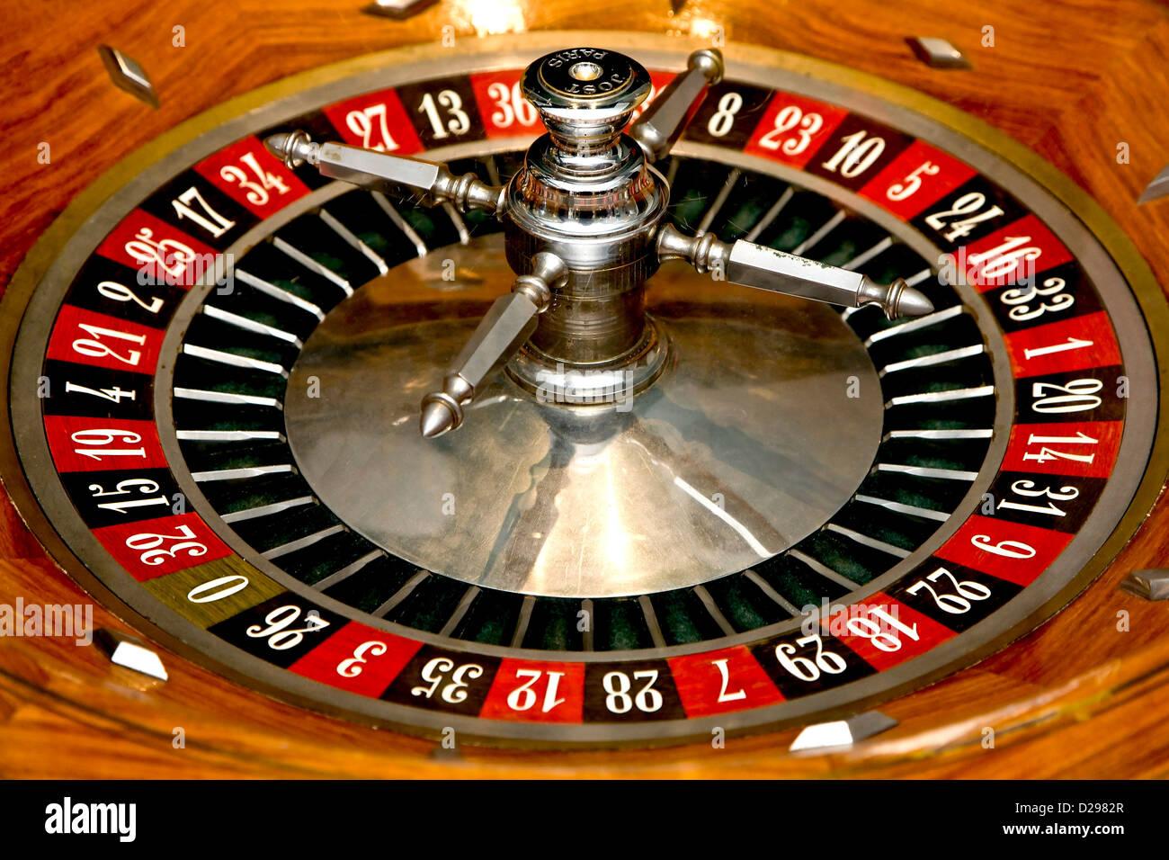 Live Roulette Wheel