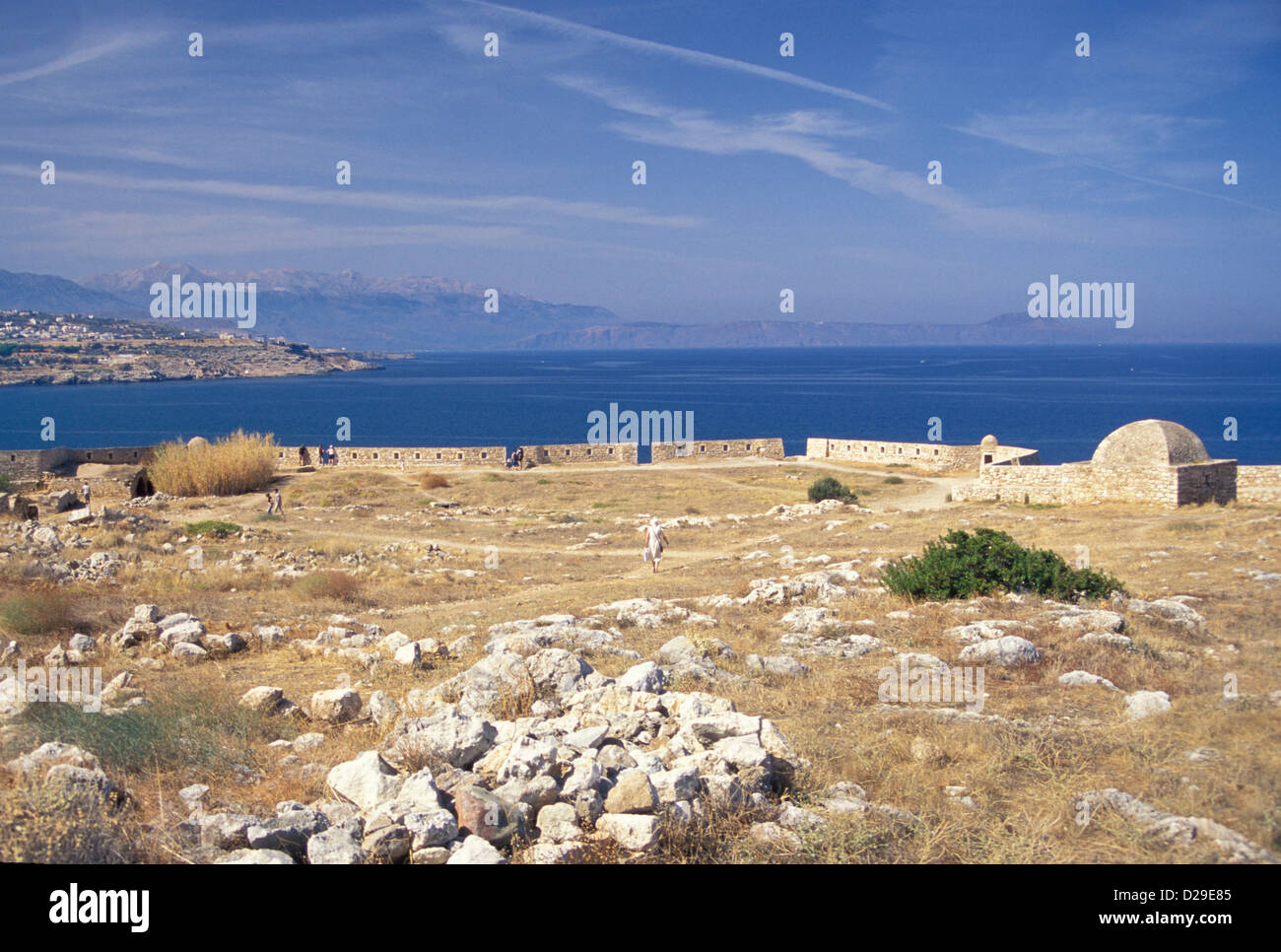 Greece. Crete. Rethymnon. Venetian Fort. - Stock Image