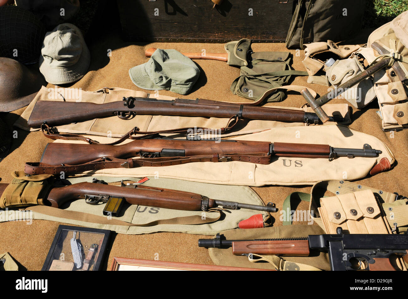 World War Ii Weapons - Stock Image