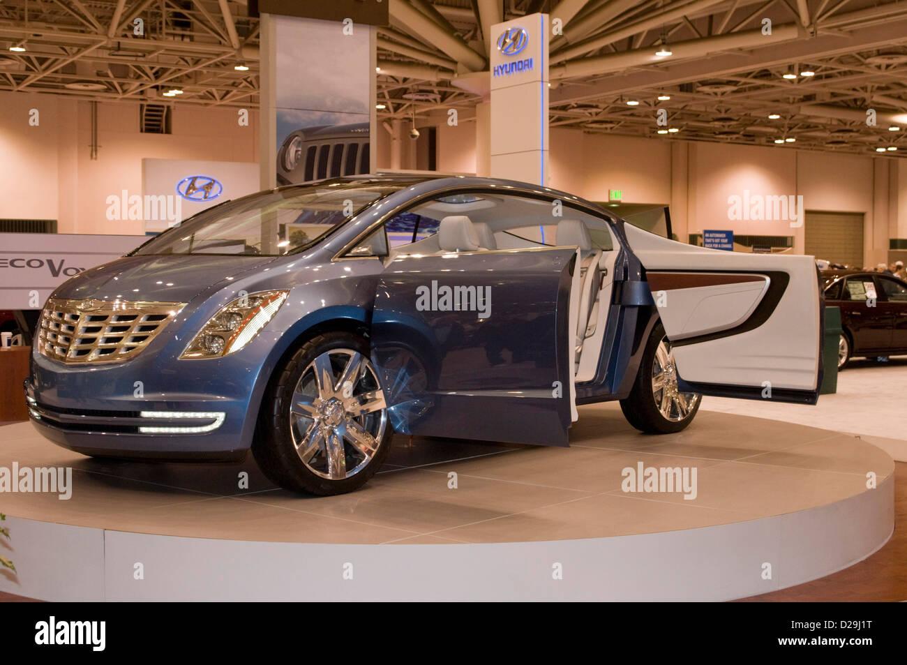 Chrysler concept car - Stock Image