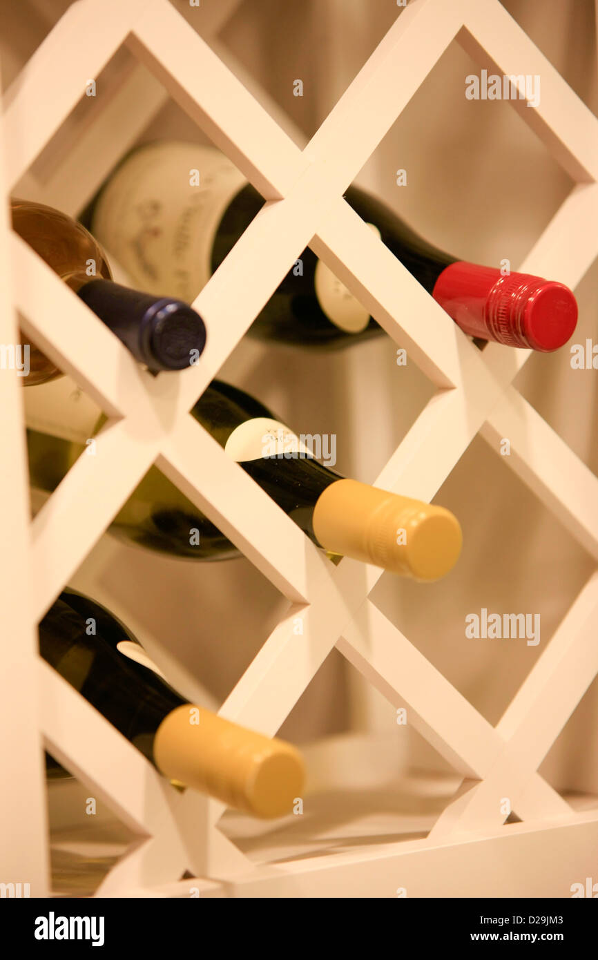 Wine Rack And Wall Stock Photos & Wine Rack And Wall Stock Images ...