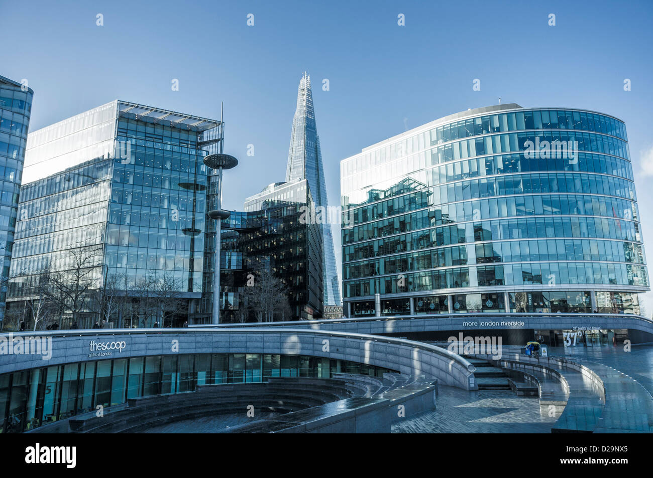 The Scoop at the More London Riverside development, London, UK - Stock Image