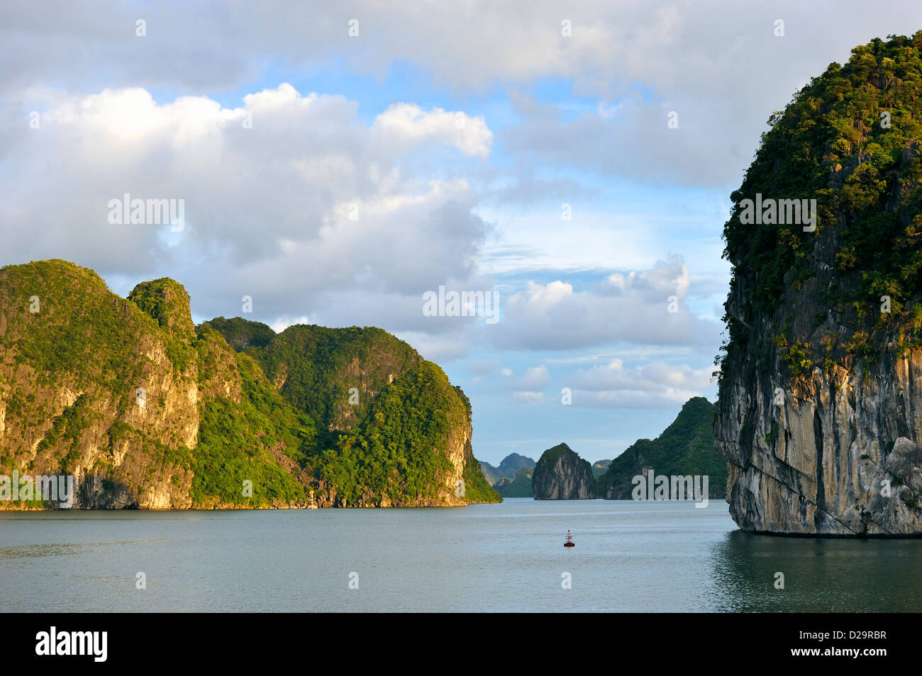 Halong Bay, Vietnam - Stock Image