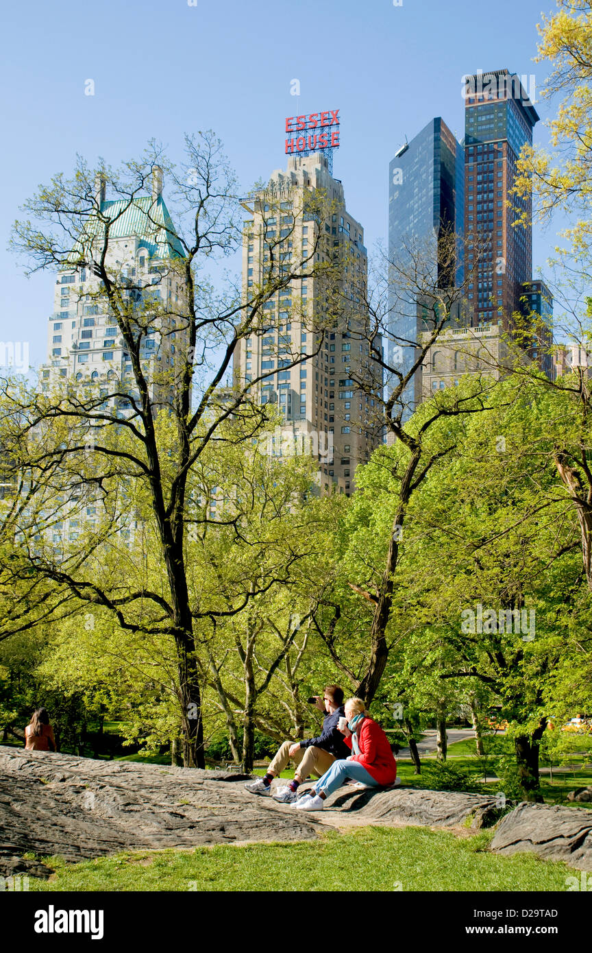 New York City, Central Park - Stock Image