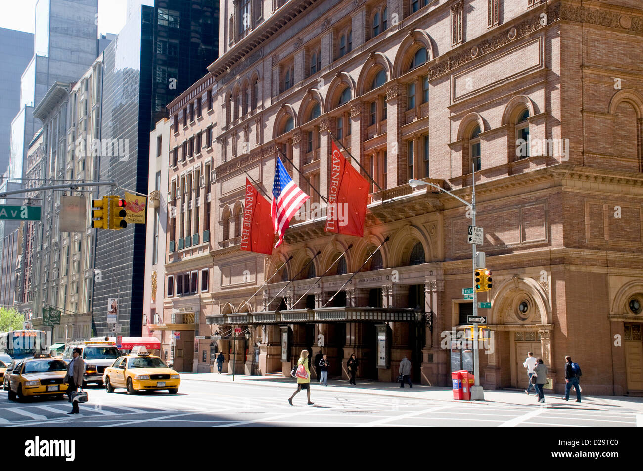 New York City, Carnegie Hall - Stock Image