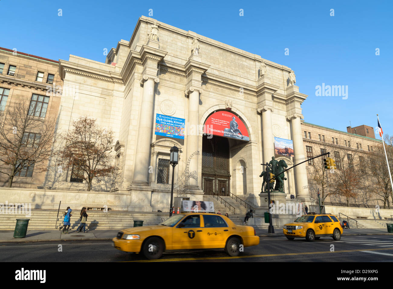 American Museum of Natural History, West Manhattan, New York City, USA - Stock Image