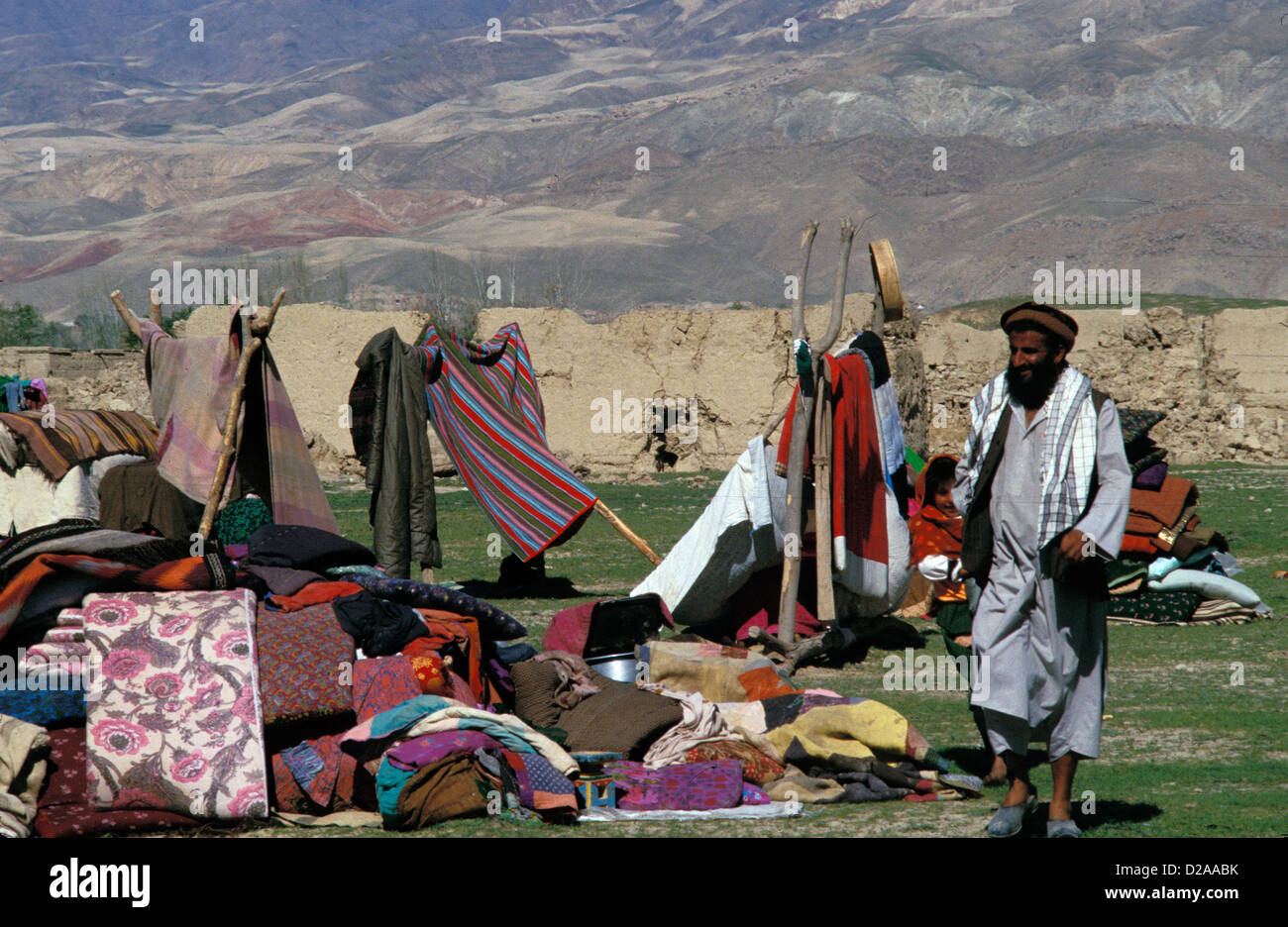 Afghanistan, Aftermath Of 2005 Earthquake - Stock Image