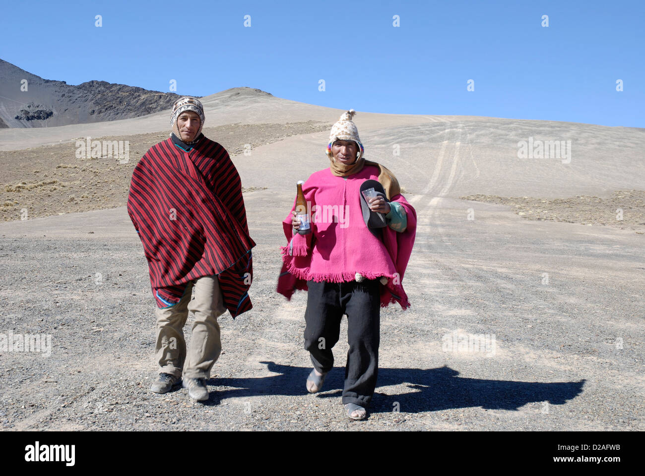 People of the Cordillera Real - Stock Image
