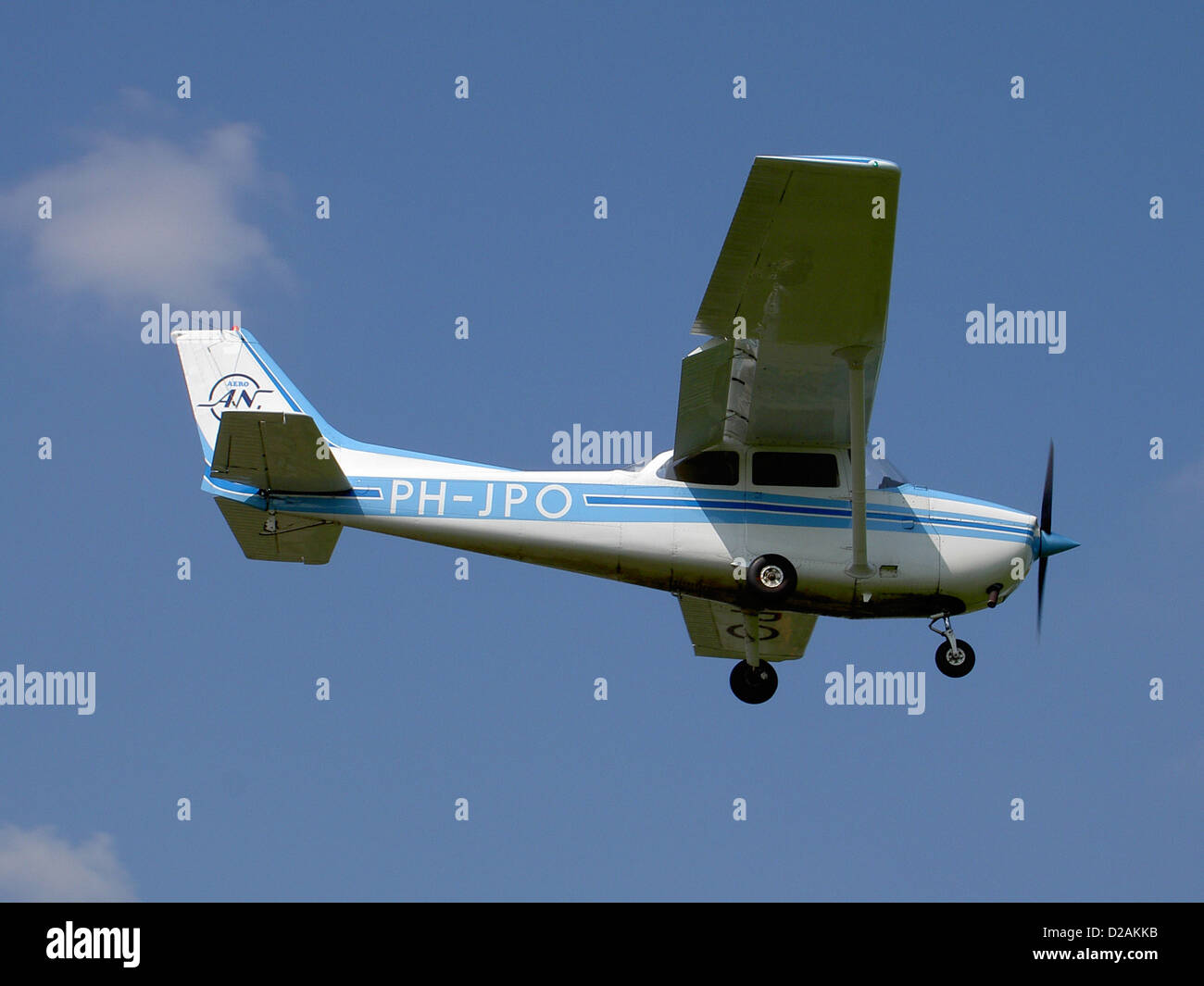 PH-JPO at Deventer - Teuge (EHTE). - Stock Image