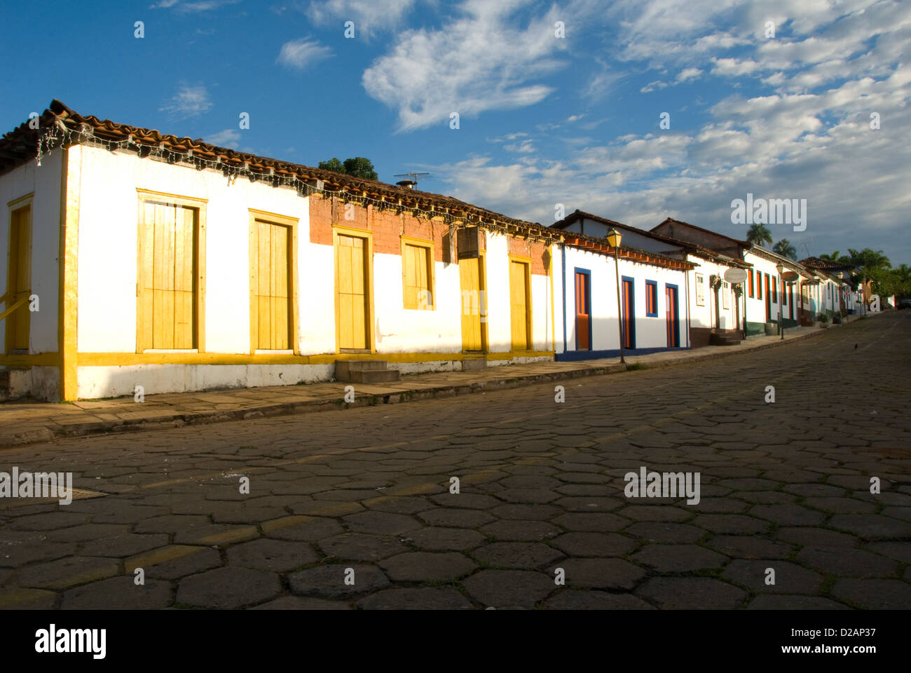 Pirenópolis is a town located in the Brazilian state of Goiás - Stock Image