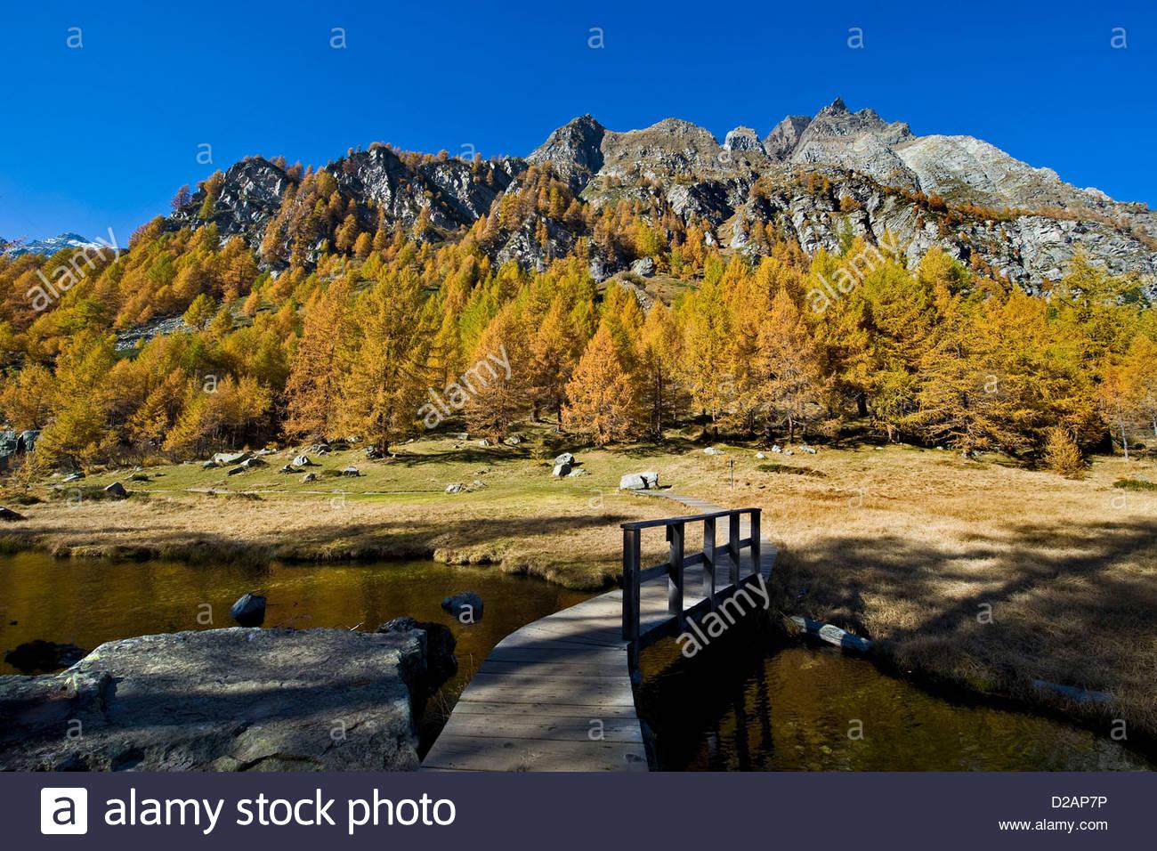 Italy,Piedmont,Devero alp,Alpe Devero - Stock Image