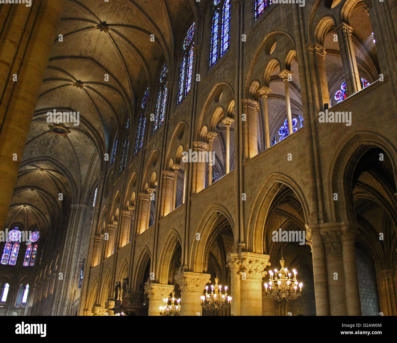 Notre Dame Cathedral And Candle Stock Photos Amp Notre Dame