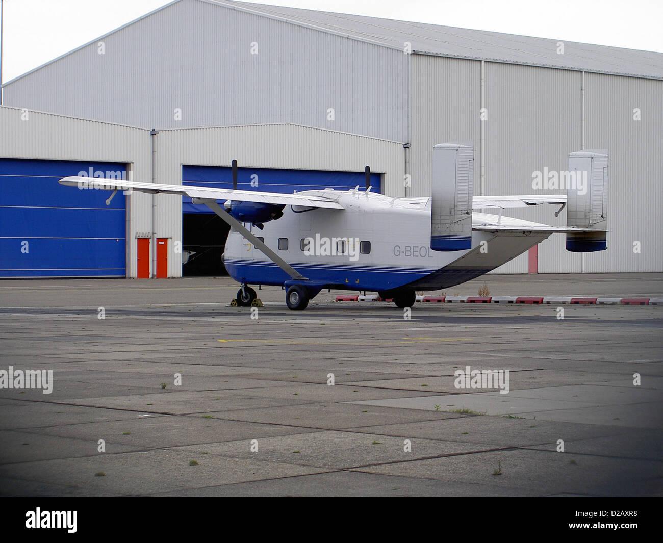 Shorts SC.7 Skyvan, G-BEOL. - Stock Image
