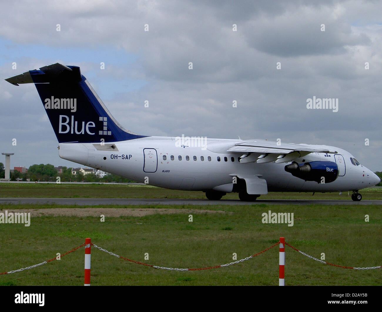 Blue1 Avro 146-RJ85 (OH-SAP) - Stock Image