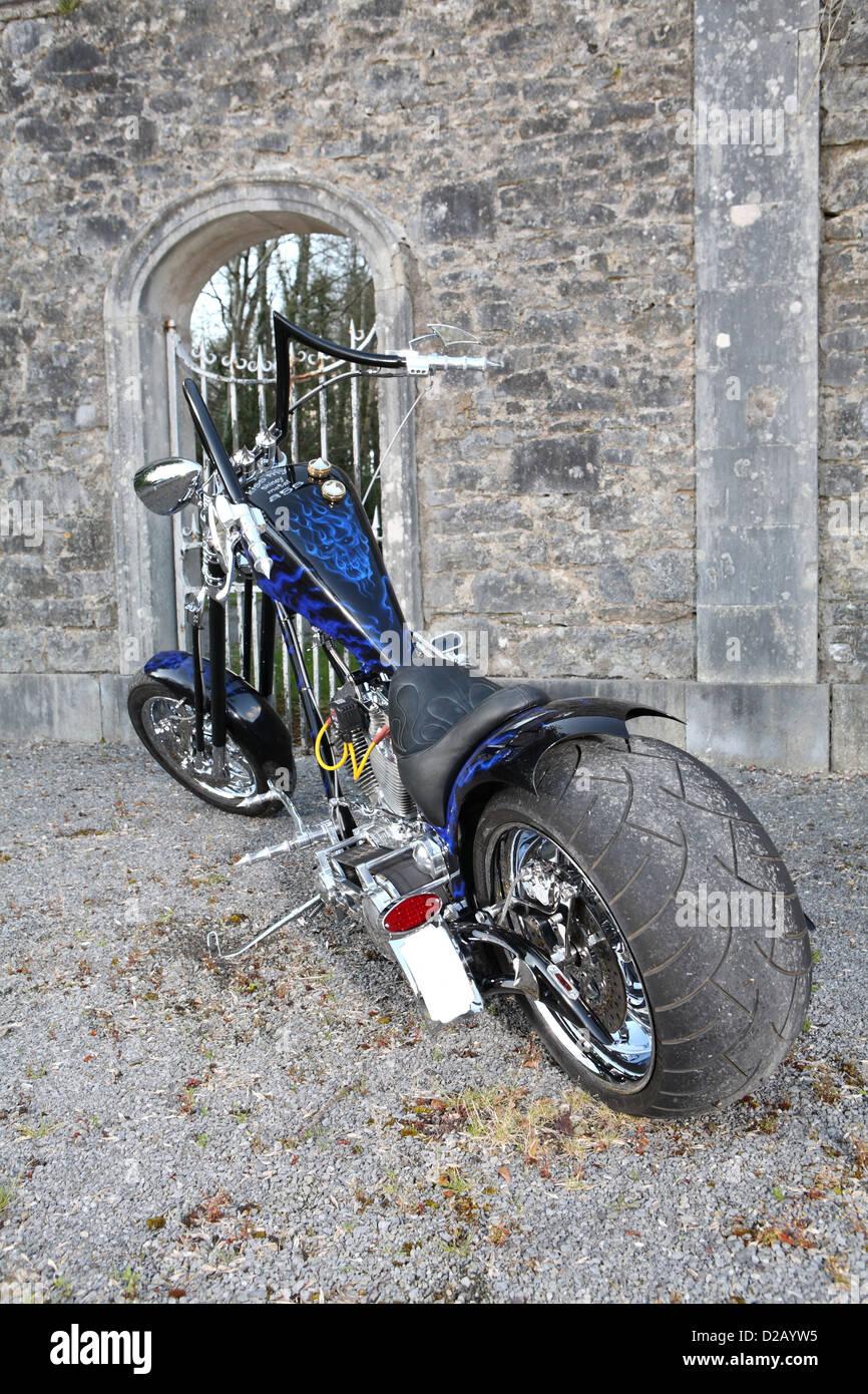 S&S Custom Chopper - Stock Image