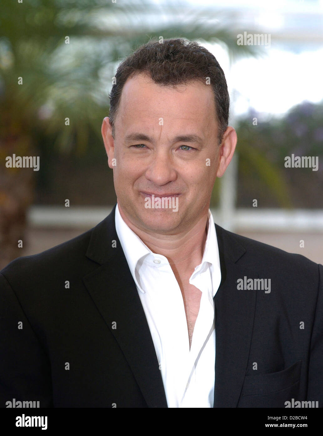 Festival De Cannes the Cannes Film Festival. Pictured Tom Hanks - Stock Image