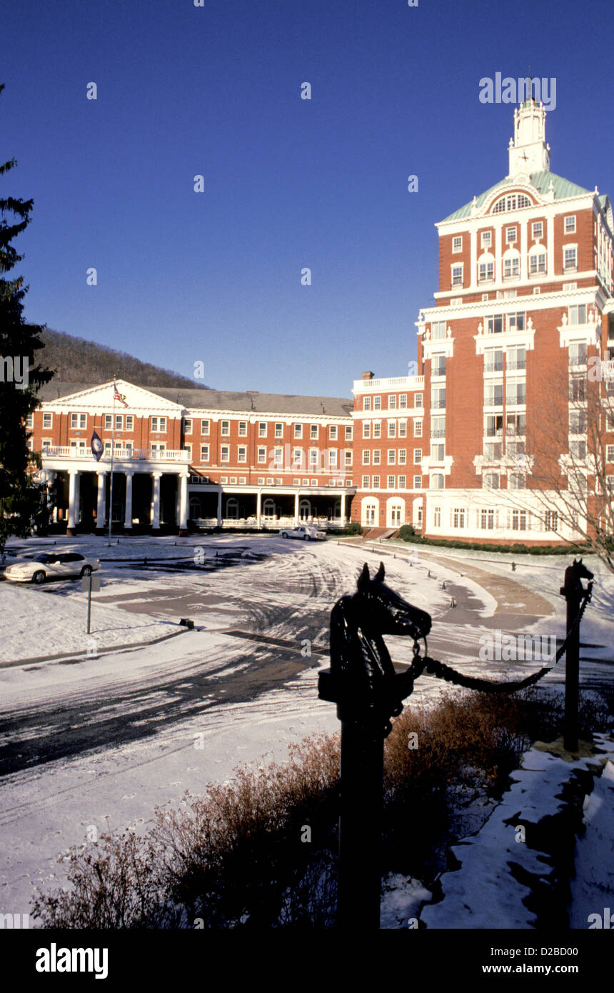 Virginia. Hot Springs. The Homestead. - Stock Image