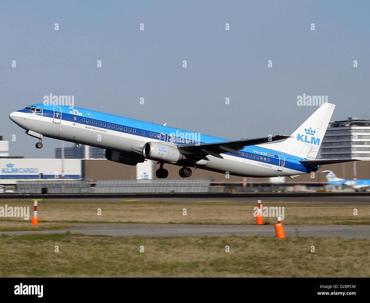 Boeing 737-900 KLM PH-BXP - Stock Image
