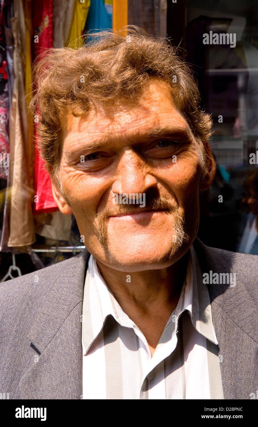 Portrait Of A Ukrainian Man - Stock Image