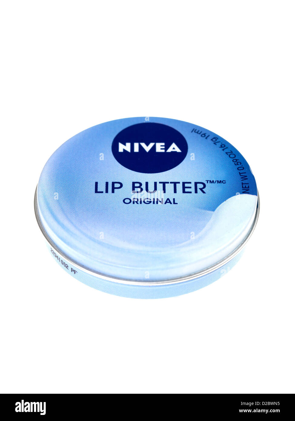 Nivea Lip Butter - Stock Image