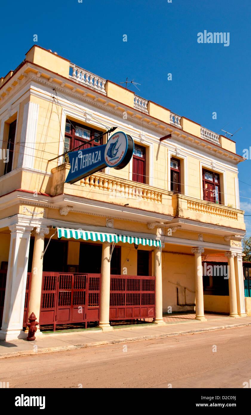La Terraza Bar Cojimar Cuba Frequented By Ernest