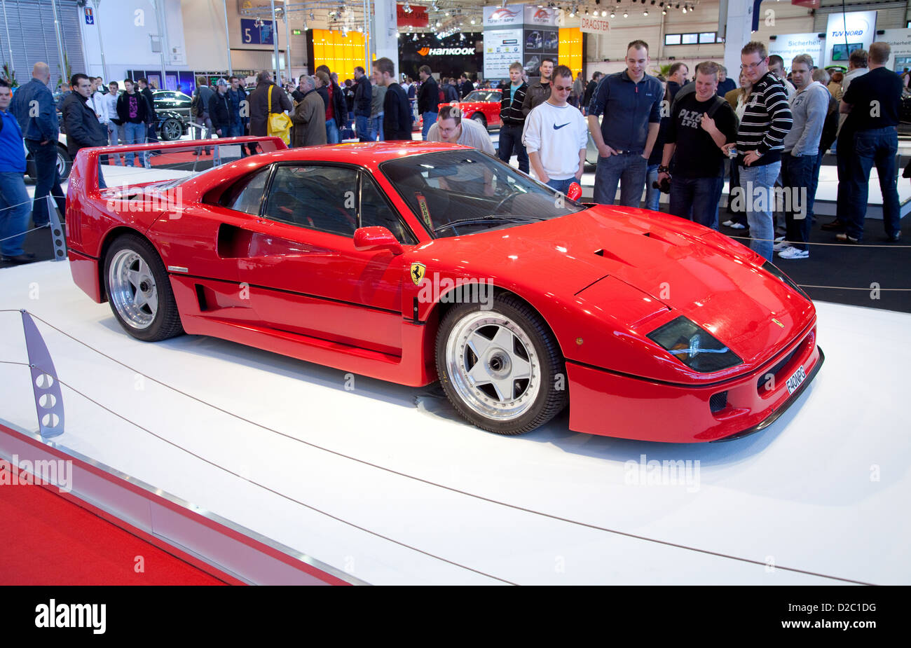 Essen, Germany, Ferrari 250 GTO at the Messe Essen Motor Show - Stock Image