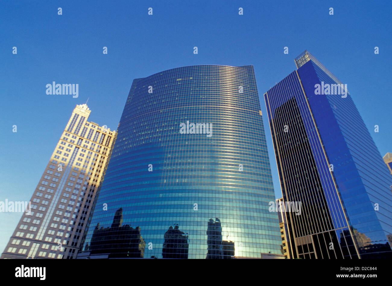 Illinois. Chicago. 333 South Wacker Drive. - Stock Image