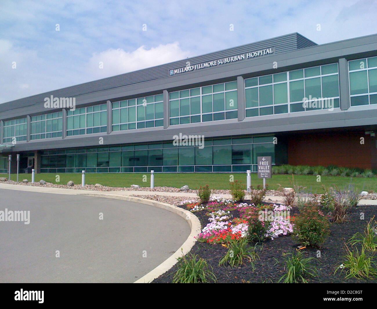 Millard Fillmore Suburban Hospital, Williamsville, New York - Stock Image