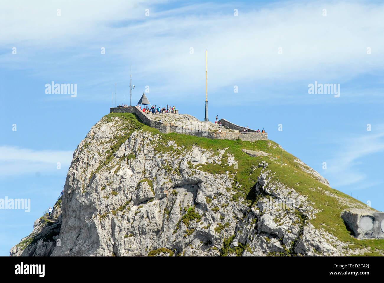 Mt. Pilatus, Switzerland - Stock Image