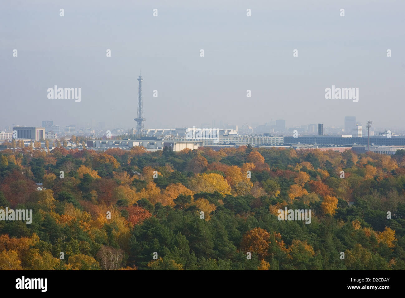 Berlin, Germany, Fall Timm Mung over Berlin - Stock Image