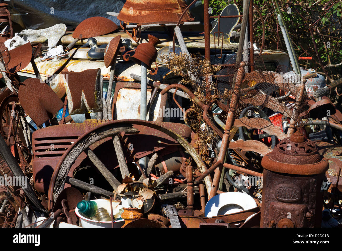 Junk Yard Art Stock Photos & Junk Yard Art Stock Images - Alamy