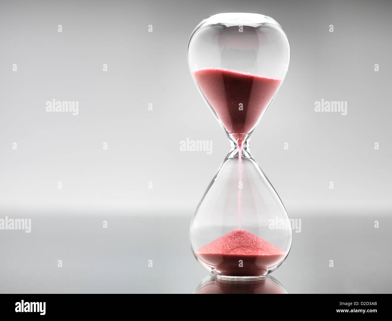 Hour glass - Stock Image