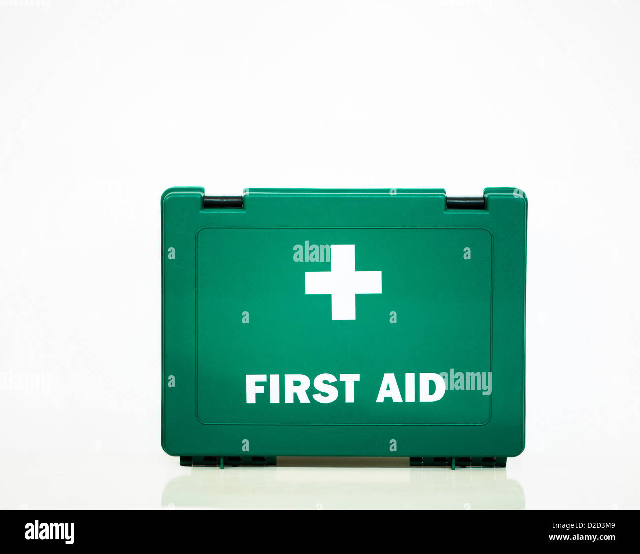 First aid box - Stock Image